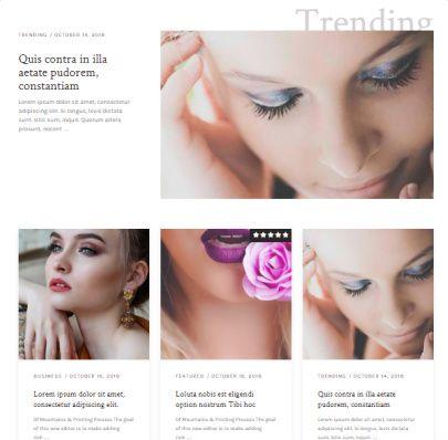 Frontpage Categories - Beauty Mythemeshop