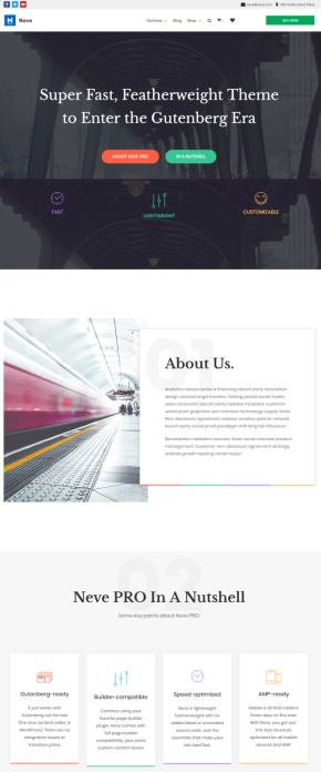 Neve Pro WordPress Theme Review - ThemeIsle