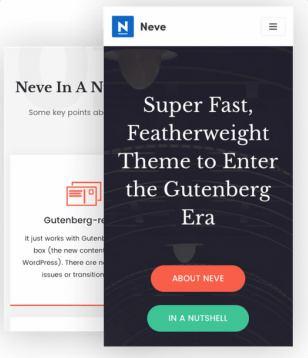 Neve Responsive WordPress Theme - ThemeIsle