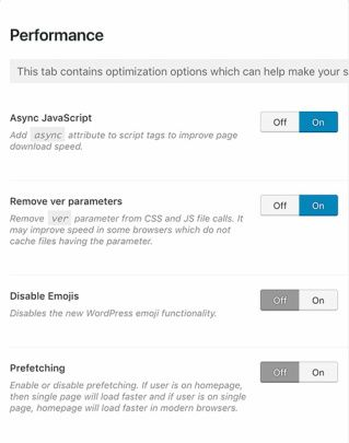Options Panel - Lawyer Attorney Theme
