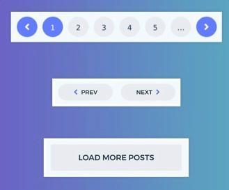 Paginations - Startup WordPress Theme
