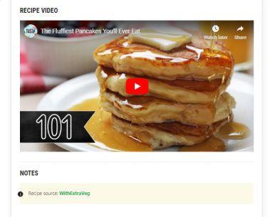 Recipe Video - Recipe Card Blocks PRO