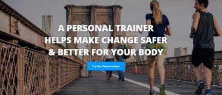 Slideshow - MyThemeShop Fitness Theme