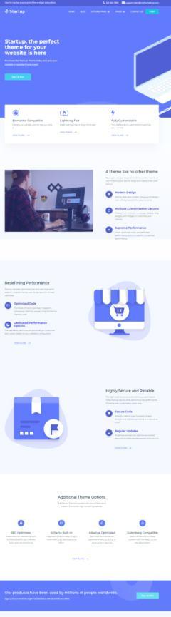 MyThemeShop Startup Demo – Entrepreneurs WordPress Theme