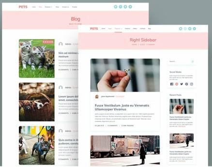 Blog Layouts - Pets MyThemeShop