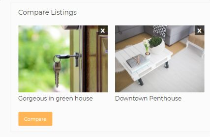 Compare Listings - WP Real Estate