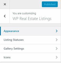 Customizer - Free Real Estate Plugin Mythemeshop