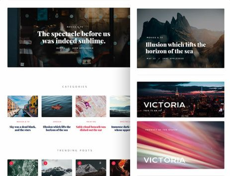Homepage Layouts - DailyBuzz