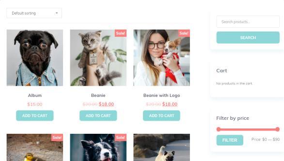 Pet Product Store - MyThemeShop eCommerce Shop