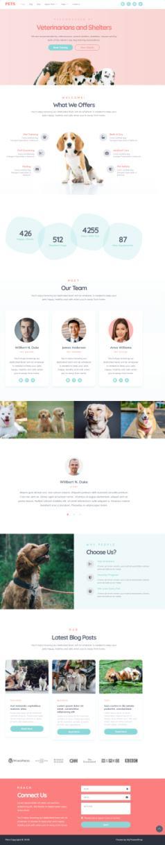 Pets MyThemeShop – Pet Care Blog / Shop / Veterinary Theme