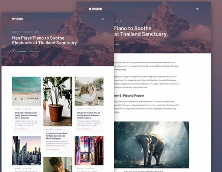 Suitable For Blog - Personal Theme