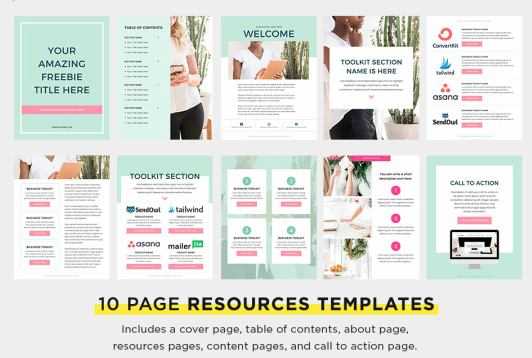 Canva Resources Templates