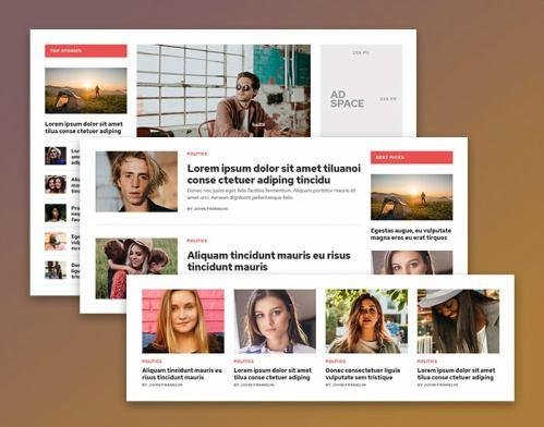 Blog Layouts - Outspoken Magazine Theme
