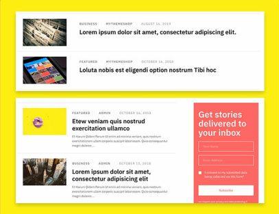 Blog Layouts - Tabloid MyThemeShop