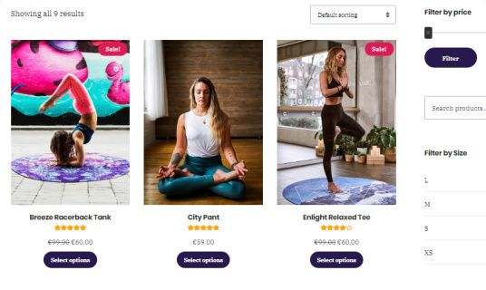 Fitness Product Store - Vigour