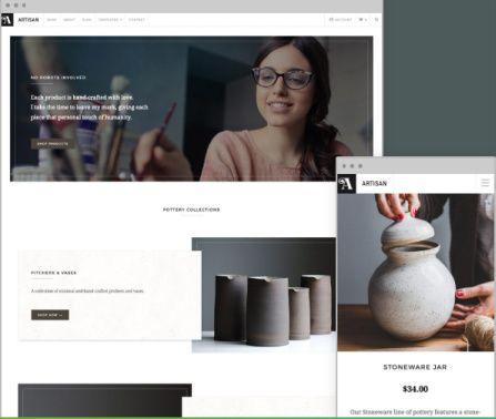 Responsive eCommerce Theme - Artisan