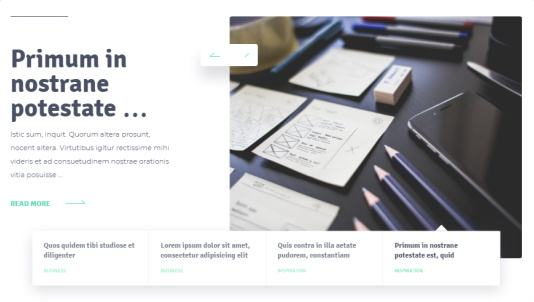 Slider - Designer MyThemeShop