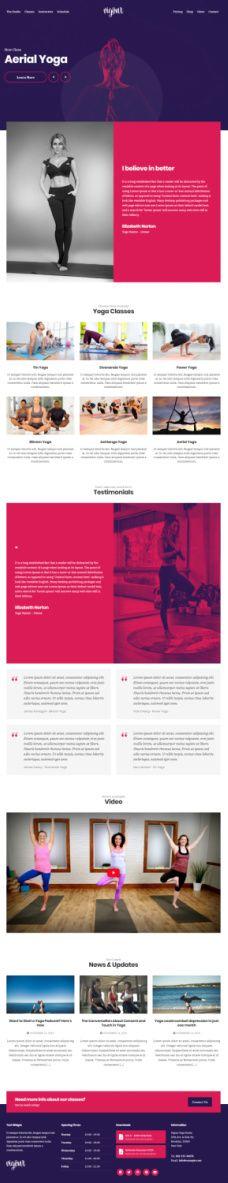 Vigour – CSSIgniter WordPress Theme For Gym & Yoga Trainers