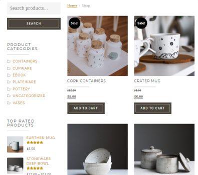 WooCommerce Items - Artisan Theme