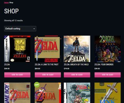 Games Shop - WooCommerce Game Store Theme