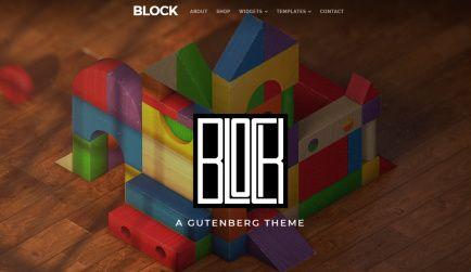 Header Video - Block WordPress Theme