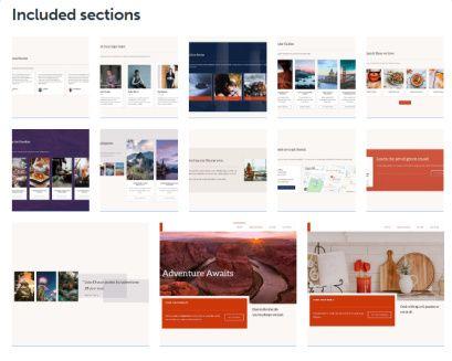 Block Sections - Navigation WordPress Theme