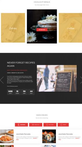 Meza - Homepage and Page Builder Blocks