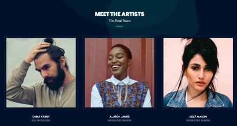 Artists - Beat Music Singers Theme