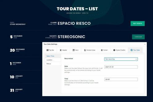 Beat - Tour Dates