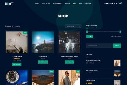 Beat - WooCommerce Shop
