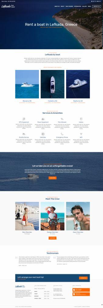 Lefkada CSSIgniter - Small Business WordPress Theme