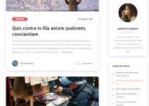 MyThemeShop Scribbler – Premium Blogging WordPress Theme