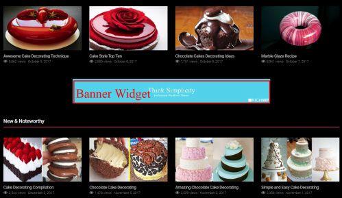 Banner Widget Section - Rich Flicks RichWP