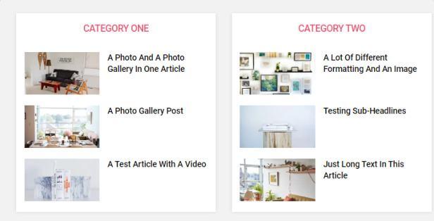 Featured Category Widget - Rich Magazine