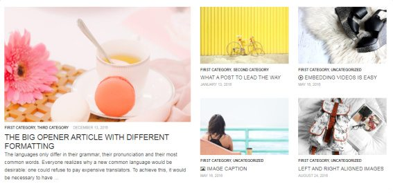 Featured Post - Rich Taste Frontpage