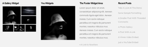 Footer Widget - RichOne