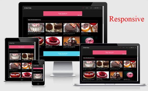 Rich Flicks Video Theme - Responsive Blog Theme
