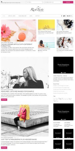 Rich Taste Theme - RichWP WordPress Blog Magazine Theme
