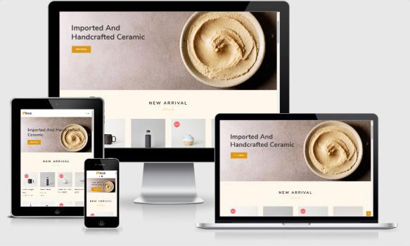 Instock Responsive eCommerce Theme - HappyThemes