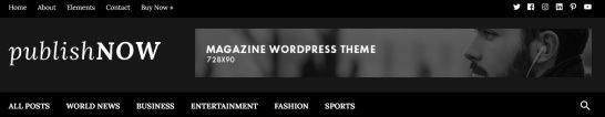 PublishNow Header