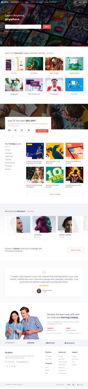 Skillate Demo - Themeum LMS WordPress Theme