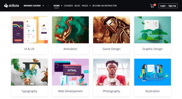 Skillate - Online Course Marketplace