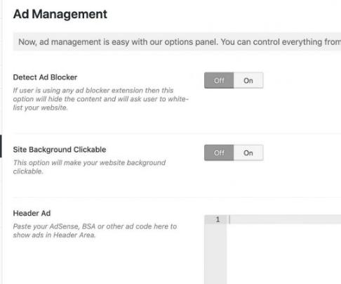 Ad Management - Chronicle