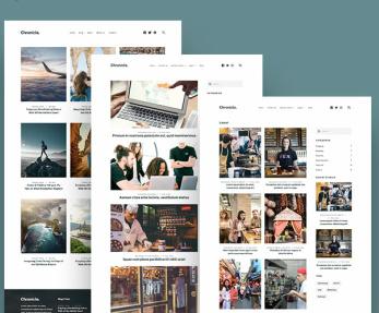 Blog Layouts - Chronicle