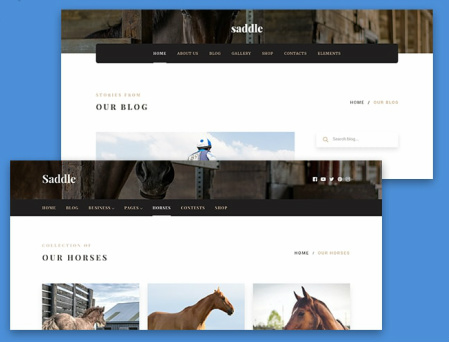 Saddle Header