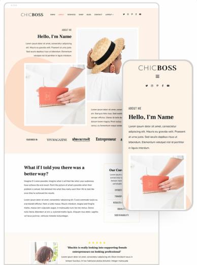 ChicBoss Demo - Business WordPress Theme