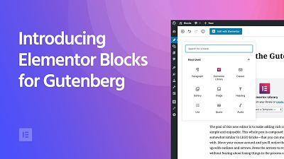 Gutenberg Elementor - Happy Themes