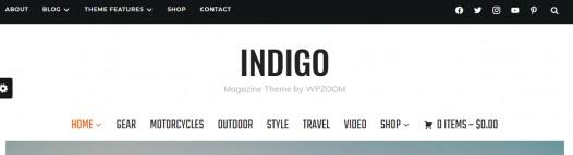 Header - Indigo