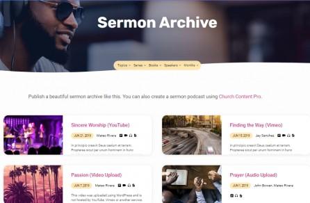 Jubilee Sermons Archive