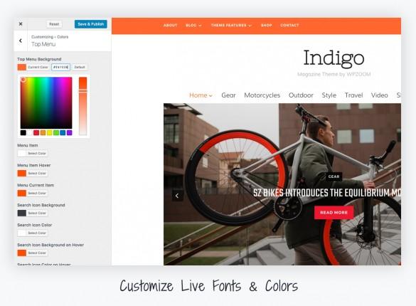 indigo-customize